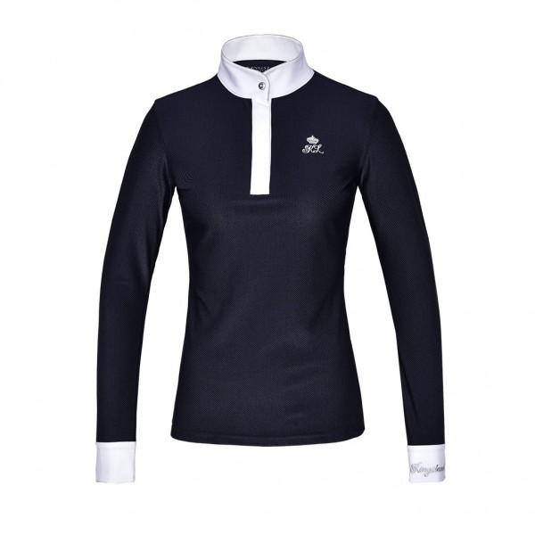 Kingsland KLmacey langärmliges Turniershirt Damen Navy