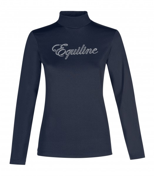 Equiline Maglia Kinder Trainingshirt Navy