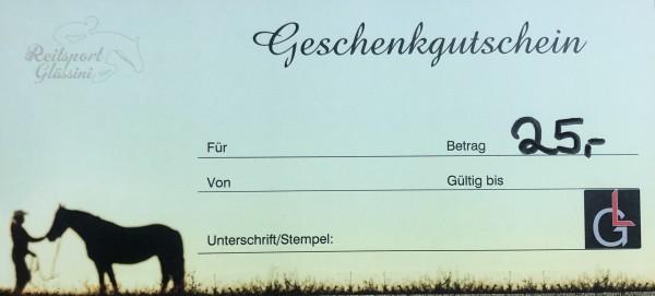 Glässini Gutschein 25,00€