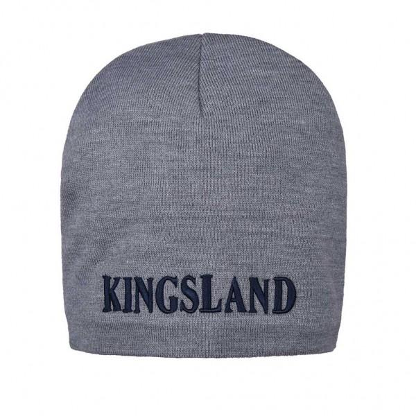 Kingsland Mütze KLdonal, flachgestrickt, unisex Grau
