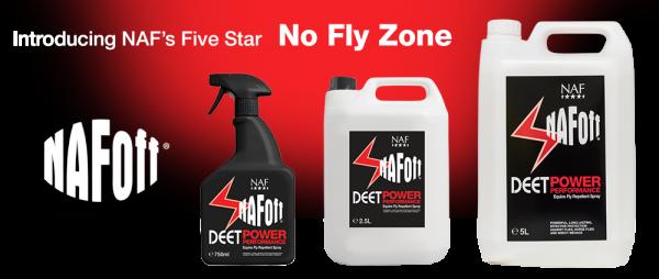 NAF Fliegenspray Off DEET Power Performance 750 ml