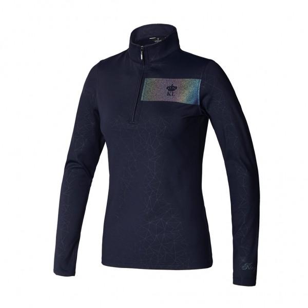 Kingsland KLtenley Trainingsshirt ½ Reißverschluss Damen Navy