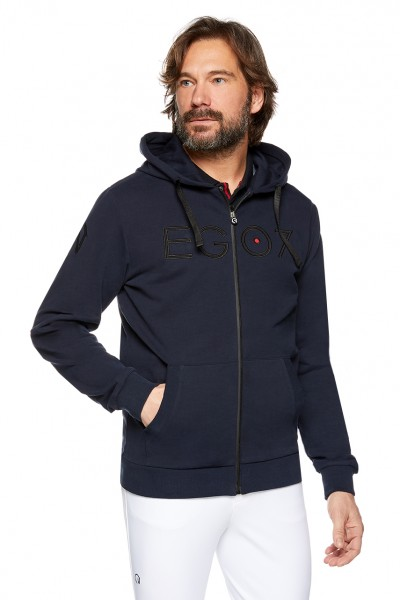 EGO7 Herren After Riding Sweatshirt Navy/Schwarz