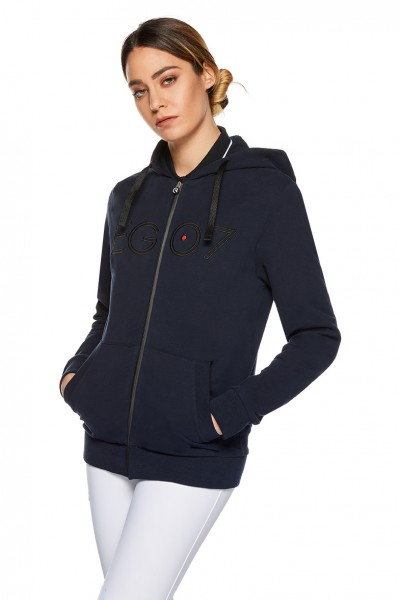 EGO7 Damen After Riding Sweatshirt Navy/ Schwarz