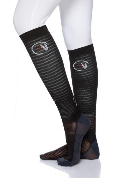 EGO7 Air Socken Schwarz/Schwarz