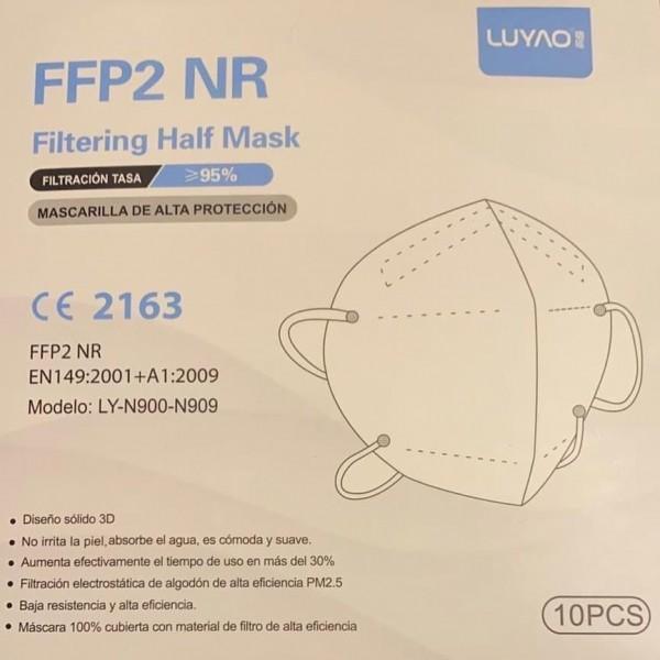 Luyao FFP2 NR Filter Half Mask/ Masken 10er Pack
