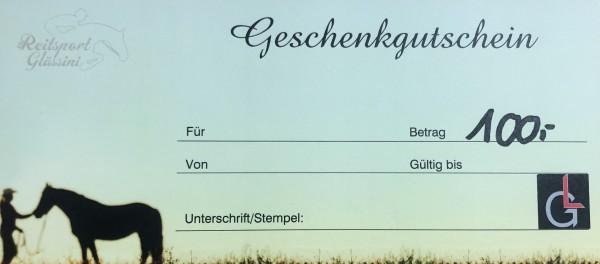 Glässini Gutschein 100,00€